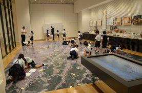 「帝京大学小学校みつけた。」