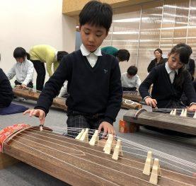 3年生 お琴体験教室